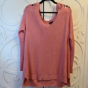 Torrid Coral Sweater - Size 2